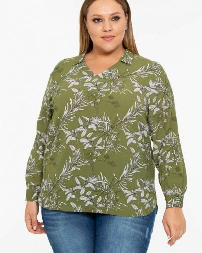 Блузка зеленый Intikoma