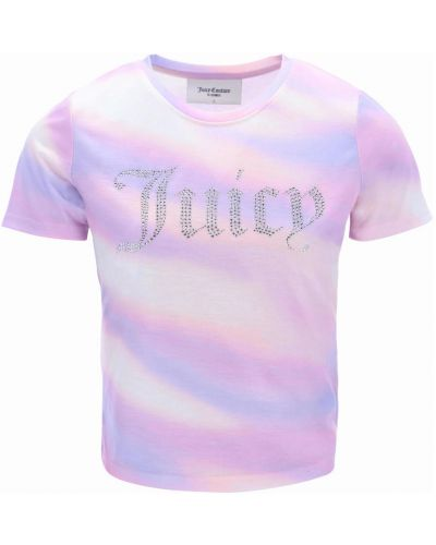 Fioletowa t-shirt Juicy Couture