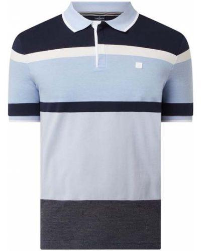 Niebieski t-shirt bawełniany Daniel Hechter