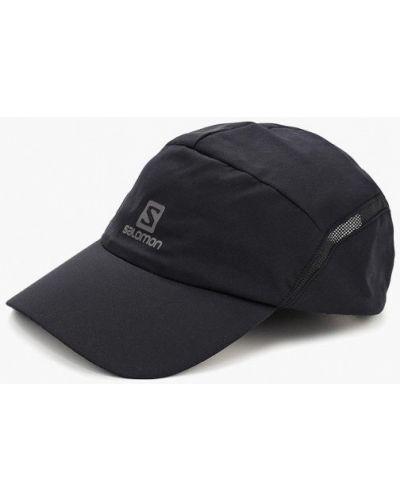 Бейсболка черная Salomon
