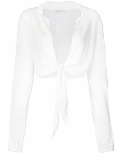 Блузка с длинным рукавом прозрачная с V-образным вырезом Beau Souci