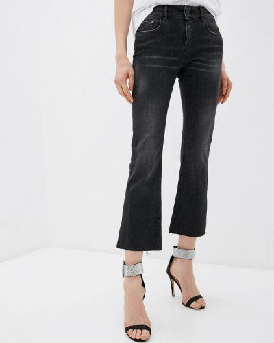 Черные широкие джинсы свободного кроя Replay