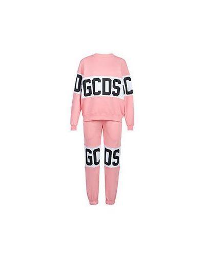 Спортивный костюм розовый Gcds