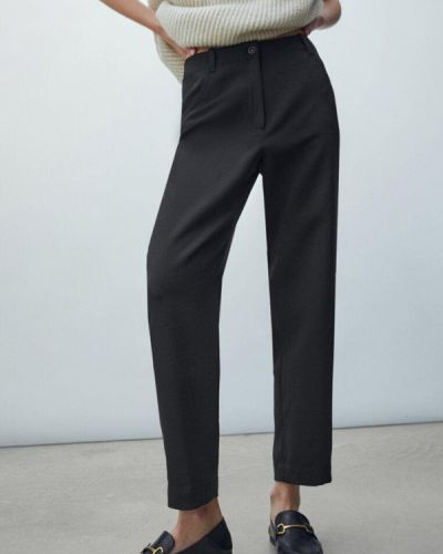 Черные брюки осенние Massimo Dutti