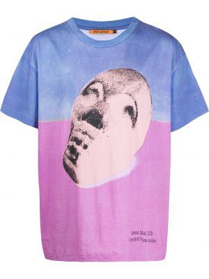 Розовая рубашка с короткими рукавами Vyner Articles