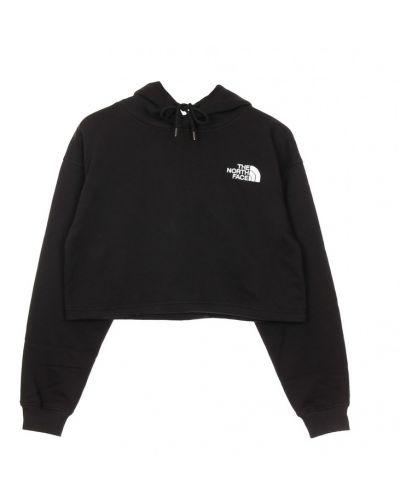 Prążkowana bluza z kapturem krótki rękaw The North Face