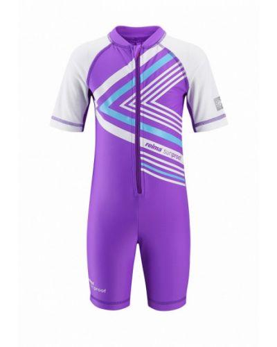 Фиолетовый купальник Reima