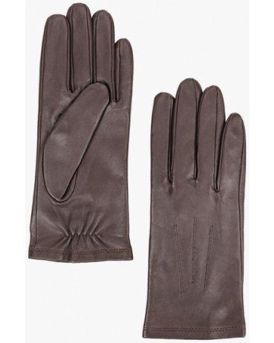 Коричневые кожаные перчатки Marks & Spencer
