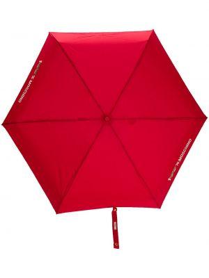 Зонт красный мини Moschino