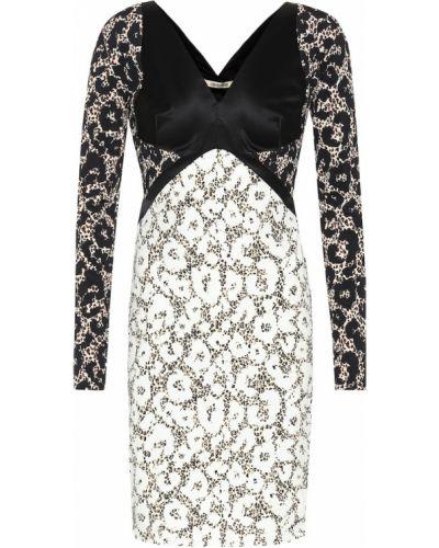 Кожаное платье макси Roberto Cavalli