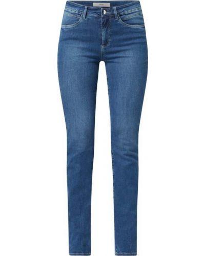 Niebieskie jeansy skinny Brax