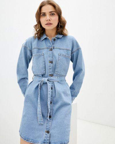 Джинсовое платье - голубое Noisy May