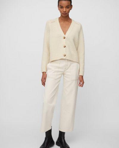 Biały sweter oversize Marc O Polo