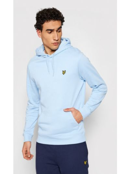 Niebieski pulower Lyle & Scott