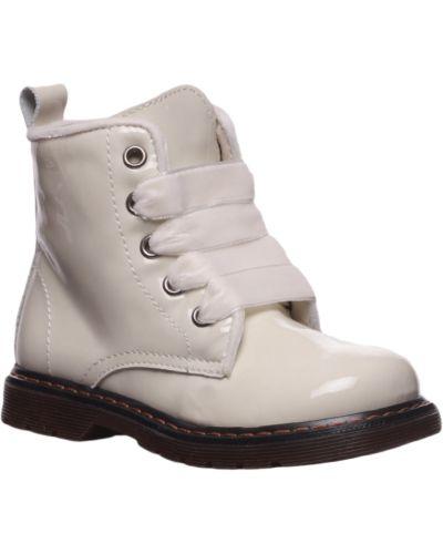 Ботинки лаковые бежевые Twin-set
