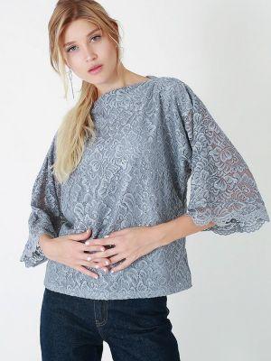 Серая блузка осенняя Lussotico