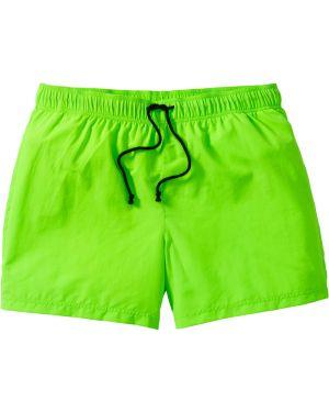Плавки-боксеры с карманами зеленый Bonprix