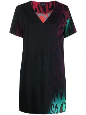 Платье мини короткое - черное Just Cavalli