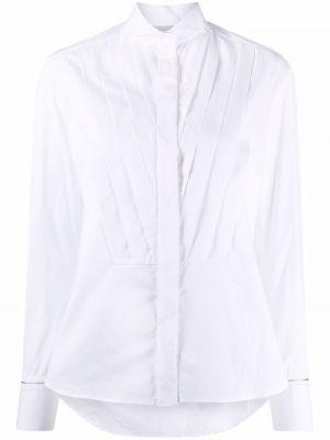 Biała biała koszula bawełniana Antonelli