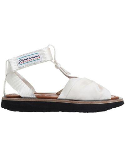 Białe sandały Zimmermann