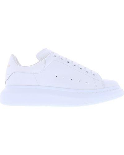 Białe sneakersy skorzane oversize Alexander Mcqueen
