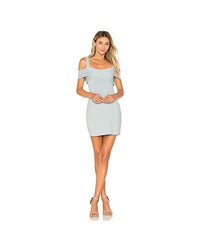 Платье мини с запахом с открытыми плечами By The Way.