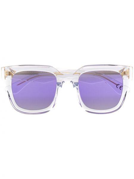 Солнцезащитные очки прозрачные - хаки Retrosuperfuture