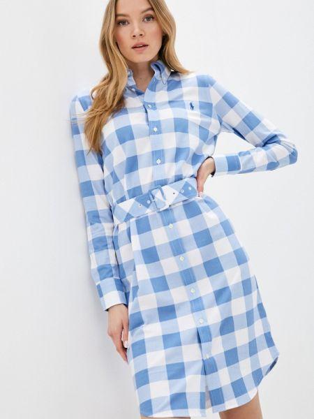 Платье платье-рубашка весеннее Polo Ralph Lauren