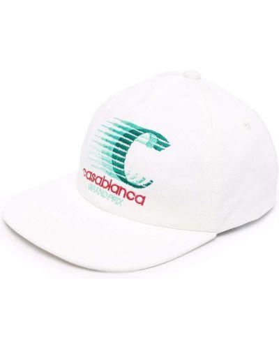 Кепка с принтом - белая Casablanca