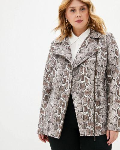 Кожаная куртка авантюра Plus Size Fashion