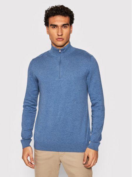 Sweter - niebieski Selected Homme