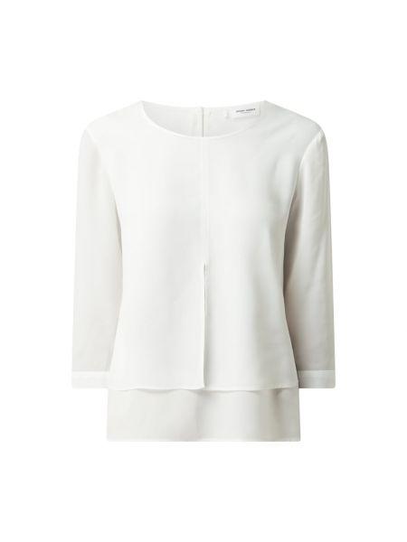 Biała bluzka z szyfonu Gerry Weber