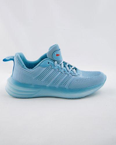 Текстильные синие кроссовки Saijun
