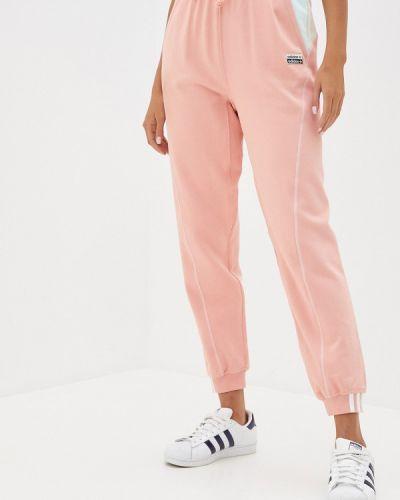 Оранжевые спортивные брюки Adidas Originals