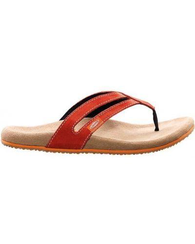 Красные спортивные сандалии Lizard