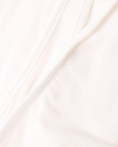 Приталенное платье макси без рукавов с вырезом Maison Close