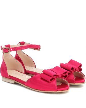 Sandały różowy żółty Little Marc Jacobs