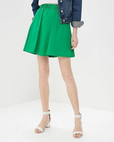 Зеленая юбка весенняя Modis