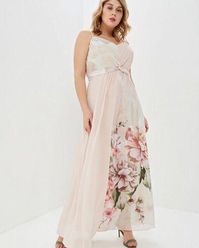 Розовое вечернее платье Kitana By Rinascimento