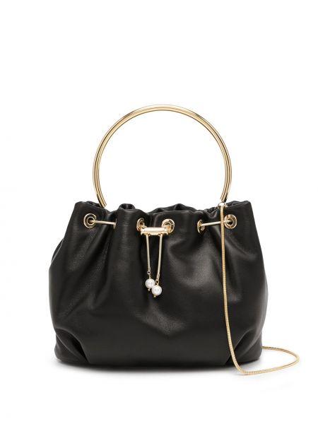 Czarna torebka bawełniana Rosantica