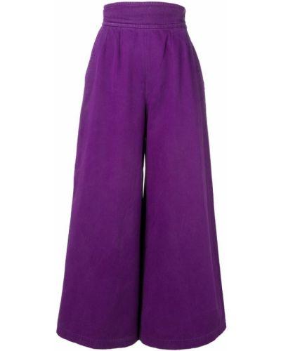 Палаццо - фиолетовые Yves Saint Laurent Vintage