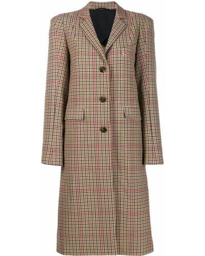 Бежевое пальто классическое Vivienne Westwood Anglomania