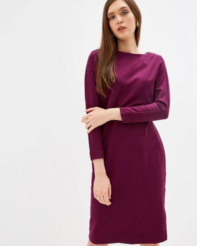 Платье бордовый прямое Imago