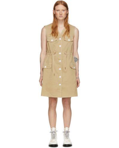 Джинсовое платье на пуговицах с отложным воротником See By Chloé