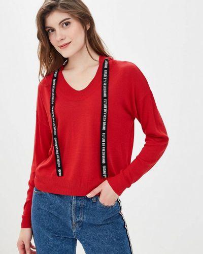 Джемпер красный осенний Fresh Brand