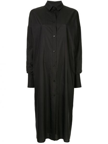 Облегающее платье на пуговицах оверсайз Boyarovskaya