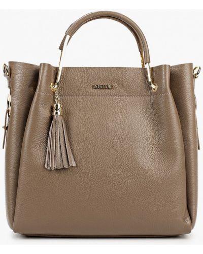Кожаная сумка - бежевая Bosccolo