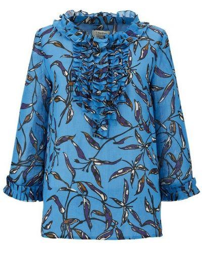 Niebieska bluzka Max Mara