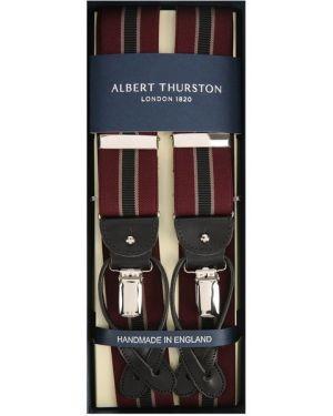 Подтяжки кожаные на пуговицах Albert Thurston