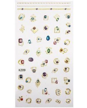 Наклейка для ногтей Planet Nails